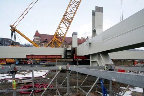 Sacre Coeur 2 - steel structure