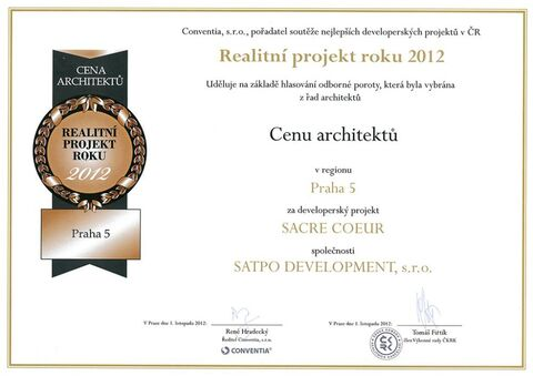 SACRE COEUR Residence - Real Estate Award 2012
