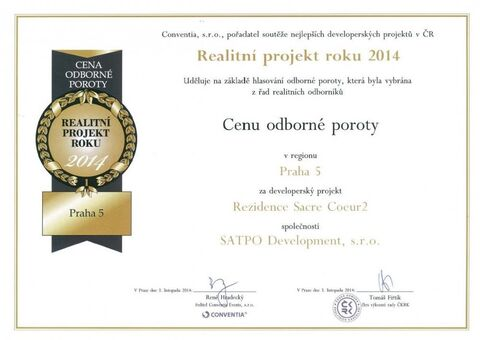 Czech Real Estate Awards 2014