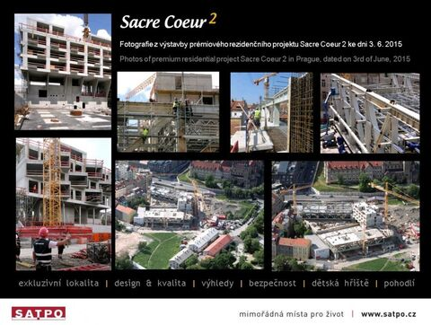 VIDEO & photos from construction of Sacre Coeur 2 Residence