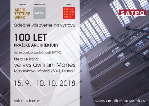 100 let pražské architektury