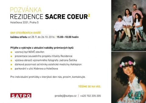 INVITATION to RESIDENCE SACRE COEUR 2