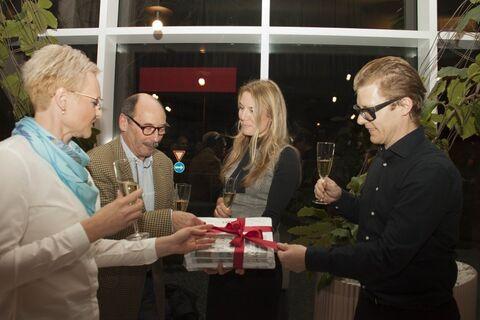 The SATPO news ceremony