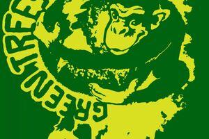 Green Trees Monkeys