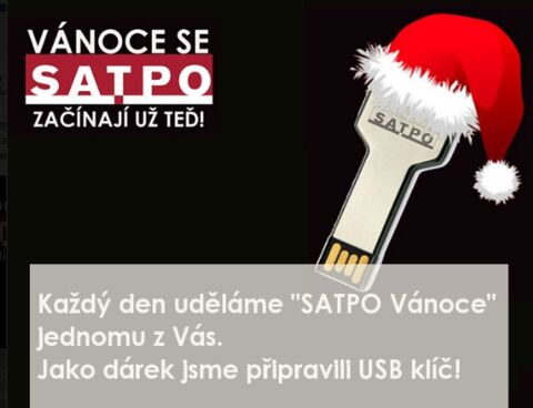 SATPO - facebook campaign with a gift