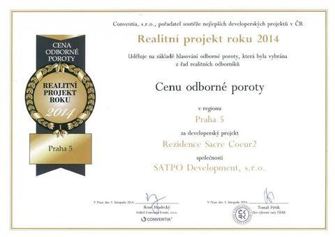 Czech Real Estate Awards 2014