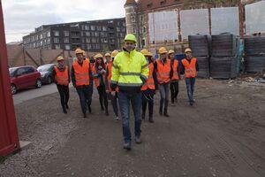 Exkurze studentů architektury a stavitelství FSv ČVUT