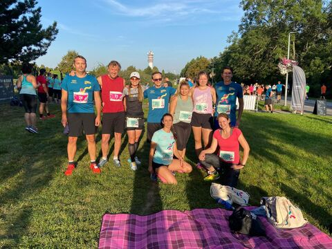 SATPO team se zúčastnil T-Mobile olympijského běhu