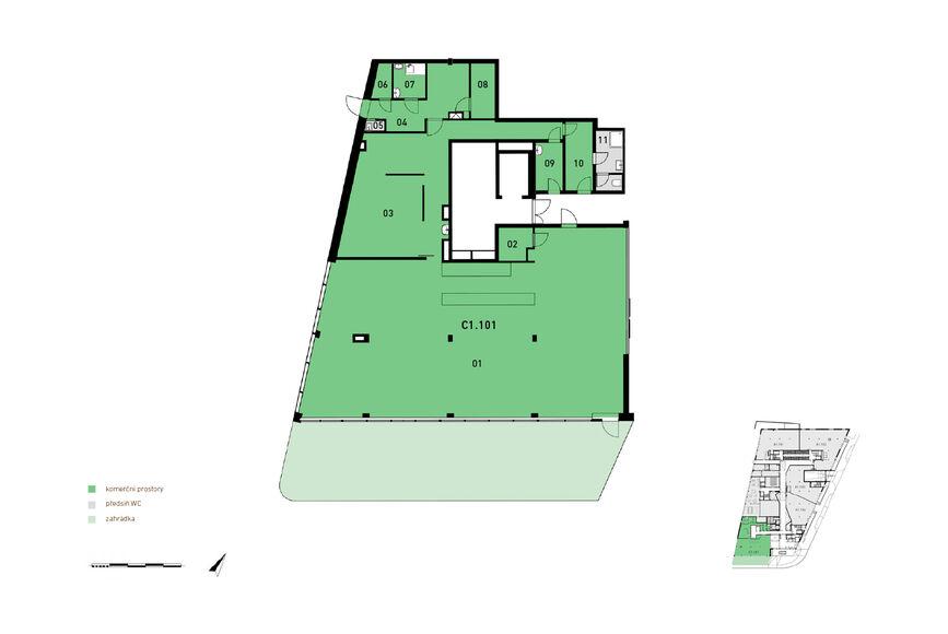 Komerční prostory C1.101