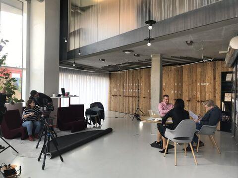 Natáčení s TV Bydlení