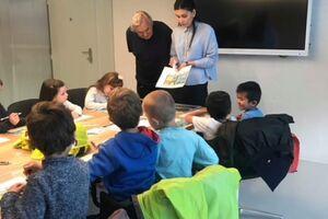 Exkurze dětí z mateřské školy Španělská