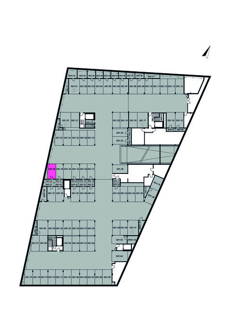 Garážové stání G01.36