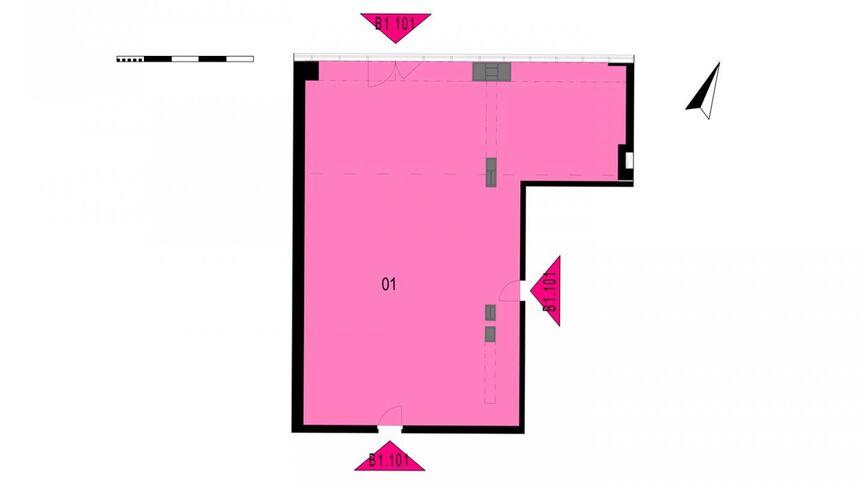Komerční prostory B1.101