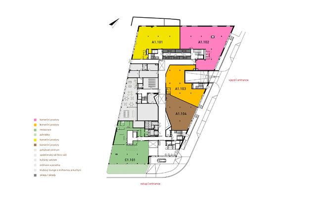 Komerční prostory A1.104